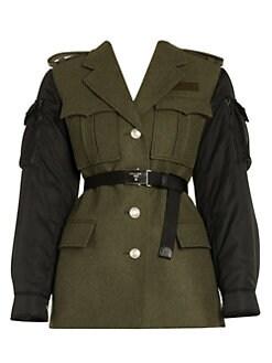 4b626aed37 Women's Apparel - Coats & Jackets - saks.com