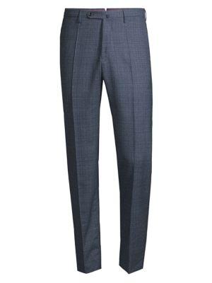 Incotex Matty Modern Fit Structural Virgin Wool Pants