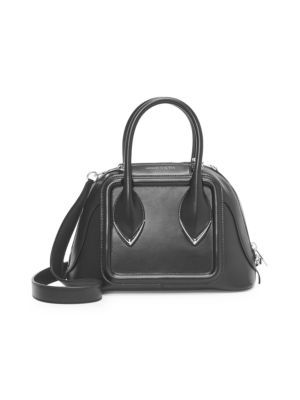 953ea54f6aa Alexander McQueen Small Pinter Polygon Leather Satchel