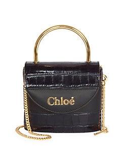 d90e401725714 QUICK VIEW. Chloé. Embossed Leather Shoulder Bag