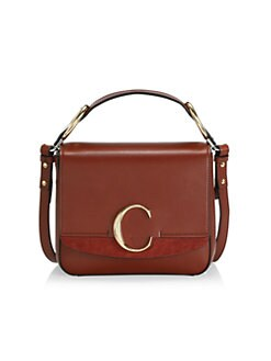 6bf24525b1b0 QUICK VIEW. Chloé. Small Square Leather Shoulder Bag