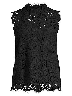 Stefi Sleeveless Lace Blouse by Generation Love