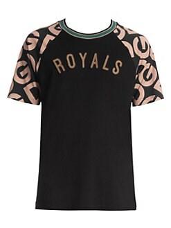 2c7735006 Dolce & Gabbana. Royals Baseball Logo Tee