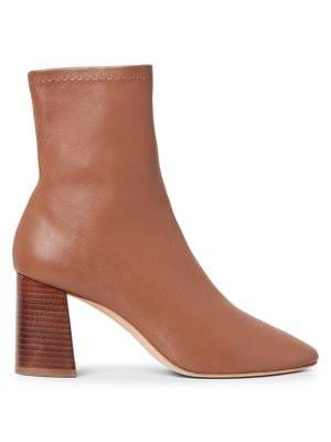 Loeffler Randall Elise Leather Ankle Boots
