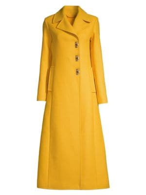 Tory Burch Wool Blend Swing Coat