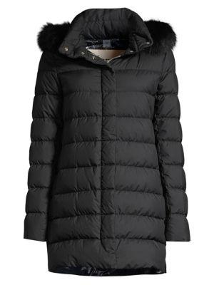 d6242ec8d Herno - Microfibre Fox Fur Trim Millionaire Puffer Jacket - saks.com
