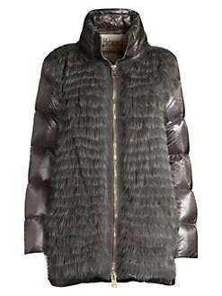 12fe45f9c5c Women's Apparel - Coats & Jackets - Fur & Shearling - saks.com