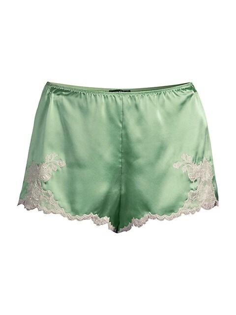 Lolita Silk & Lace Sleep Shorts