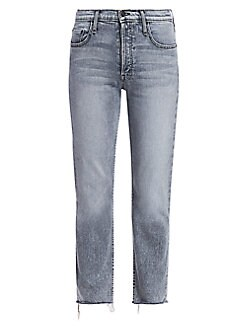 bf92df9c360859 QUICK VIEW. MOTHER. Tomcat High-Rise Straight Jeans