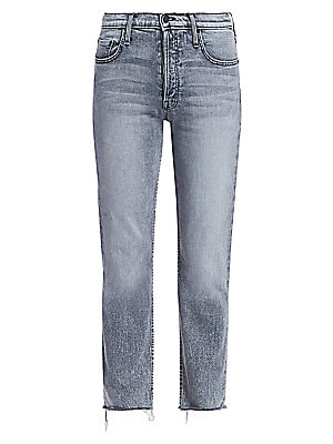 Tomcat High Rise Straight Jeans by Mother