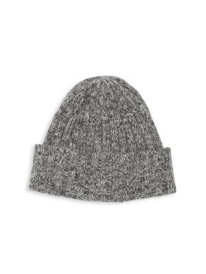 Carolyn Rowan Cashmere Tweed Hat In Heather Grey