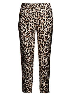 d3ed129c81a3 Escada. Talarantu Leopard-Print Ankle Pants