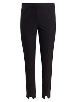 Lafayette 148 New York Plus Size Acclaimed Stretch Waldorf Slim Split Cuff Trousers