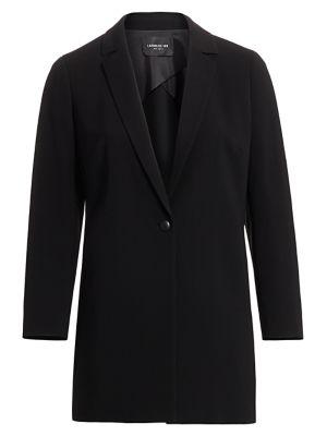 Lafayette 148 New York, Plus Size Finesse Crepe Jobelle Jacket