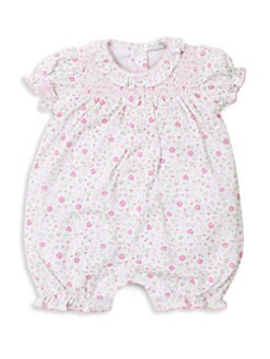 18e738c1e QUICK VIEW. Kissy Kissy. Baby Girl's Printed Bloomer Bodysuit