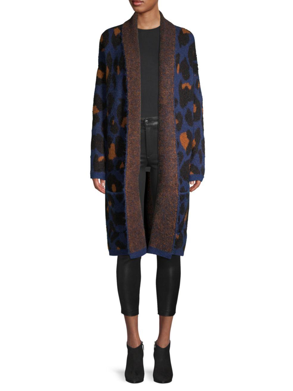 Joe's Jeans Leopard Cardigan | SaksFifthAvenue