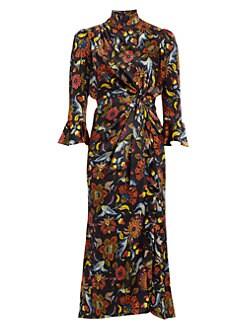 c164dbeffe Women's Apparel - Dresses - Florals & Prints - saks.com