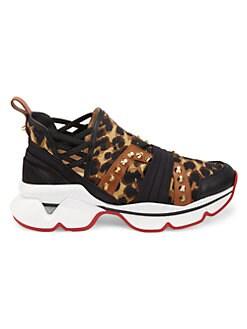 Christian Louboutin Damen Sneakers Louis Flat Loubikraft