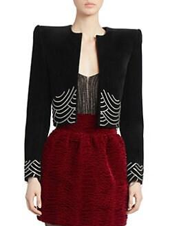 71040c7654a Saint Laurent | Women's Apparel - Coats & Jackets - saks.com