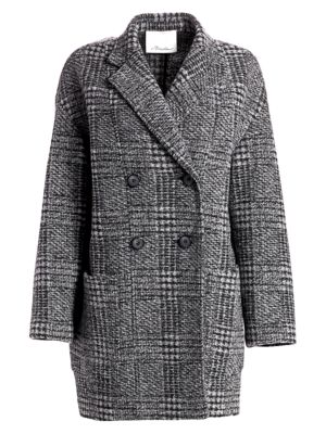 3 1 Phillip Lim Glen Check Dolman Sleeve Coat