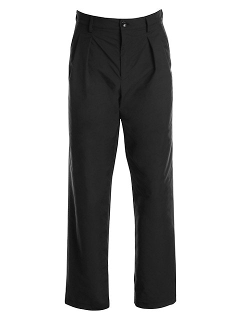 Relaxed-Fit Straight Pants