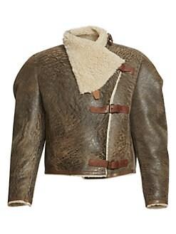 e7adcc765 Women's Apparel - Coats & Jackets - Leather & Faux Leather - saks.com