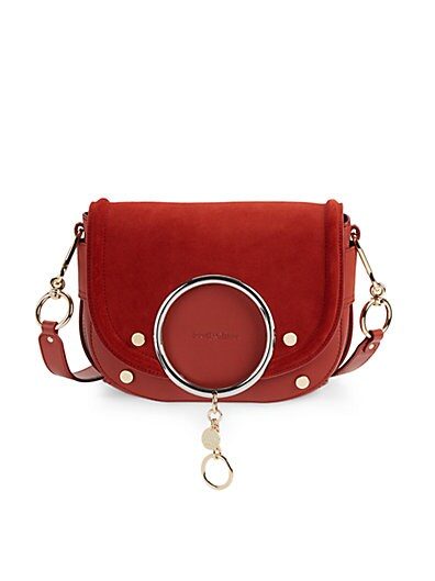 See by Chloé - Mara Suede & Leather Crossbody Bag