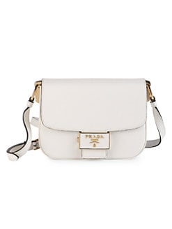 e6d1a8b06c QUICK VIEW. Prada. Ensemble Leather Crossbody Bag