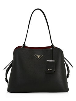21780e797 Product image. QUICK VIEW. Prada. Medium Matinee Leather Top Handle Bag.  $2850.00 · Nylon Shopper Tote BLACK