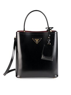 3baf9ff0cb Leather Bucket Bag BLACK. QUICK VIEW. Product image