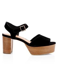 a269d5b2b4 Women's Block Heels: Sandals, Pumps & More   Saks.com