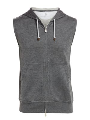 Brunello Cucinelli Spa Hooded Vest