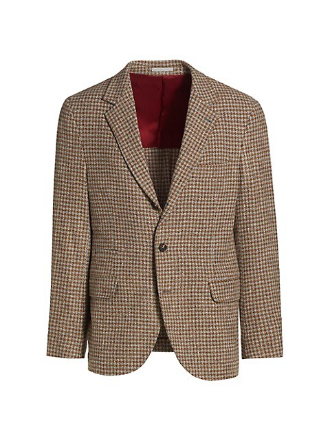 Wool & Cashmere Houndstooth Sportcoat