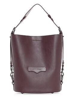 e9557d312 QUICK VIEW. Rebecca Minkoff. Utility Convertible Leather Bucket Bag