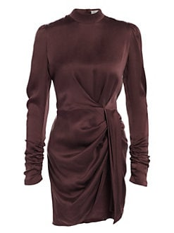 360f155dfb39 NEW. Espionage Drape Mini Sheath Dress MAHOGANY. QUICK VIEW. Product image