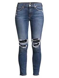 a8a589d42299 Ankle Skinny Distressed Jeans BLUE MONDAY 5. QUICK VIEW. Product image