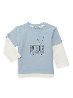 3d1d5c3fd99a Baby Boy Clothes: Tops, Footies & Bodysuits | Saks.com