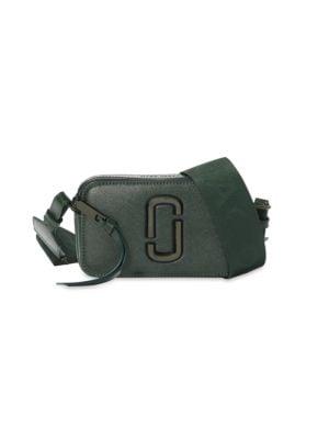 Marc Jacobs Crossbody The Snapshot Leather Crossbody Bag