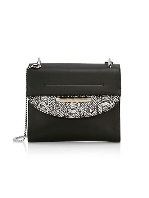Medium Delta Leather Crossbody Bag