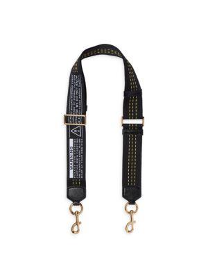 Marc Jacobs Accessories Maxium Weight Webbing Shoulder Strap