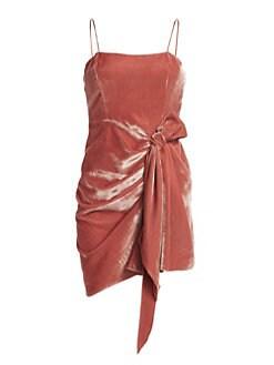 92d4ea856689e8 Cinq à Sept. Kiki Velvet Mini Dress
