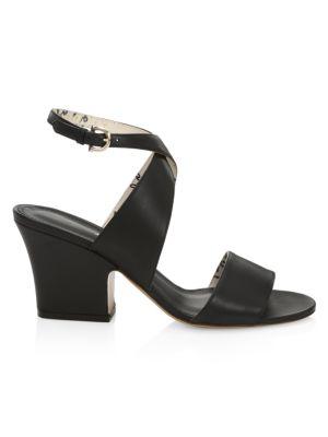 Sheena Wraparound Leather Sandals