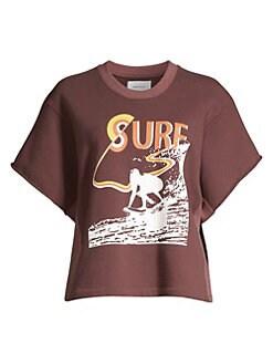 5ec4410f7a Product image. QUICK VIEW. Current/Elliott. The Pickup Surfer Graphic  Sweatshirt