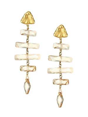 Chan Luu Golden Shadow Earrings