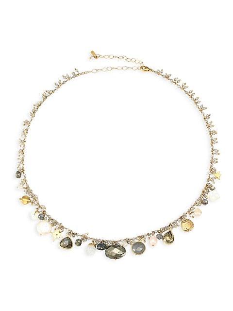 Multi-Stone Mix Necklace
