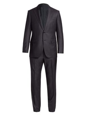 Ermenegildo Zegna Suits Trofeo Basic Wool Suit