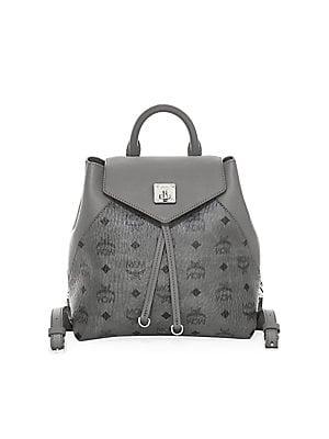 67ef979c MCM - Small Essential Visetos Original Leather Backpack
