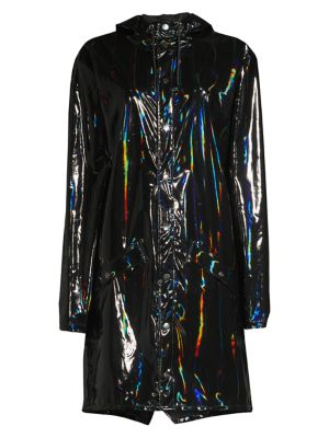 Rains Holographic Rain Coat