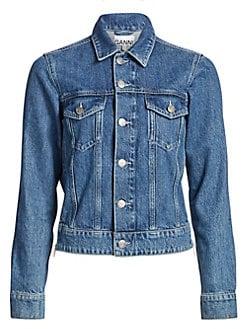 84c0d46c2c4ad Women's Apparel - Coats & Jackets - Denim Jackets - saks.com