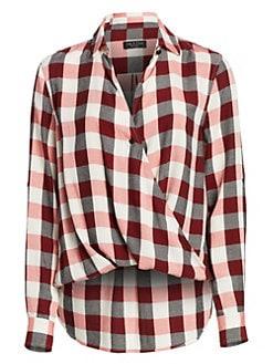 ca0e8a31ed1769 Rag & Bone. Camile Buffalo Check Shirt